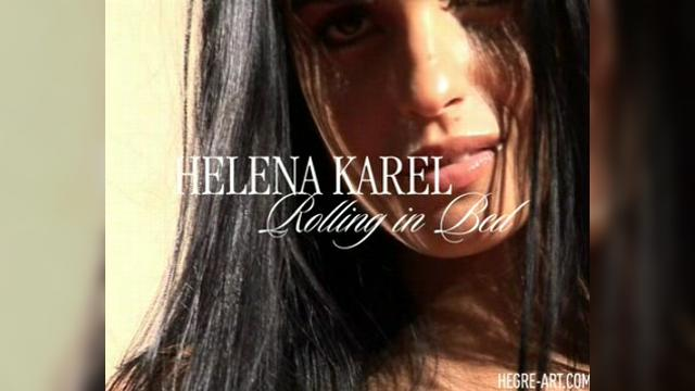 Helena  Karel - rolling in bed