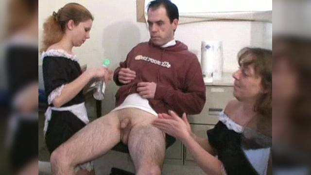 dirty anal threesome